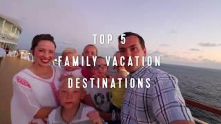 Royal Caribbean Top 5: Family Vacation Destinations