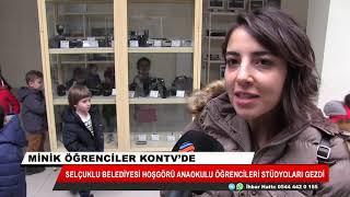 Minik öğrenciler KONTV'de
