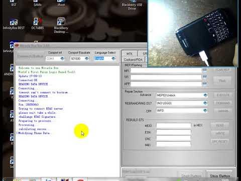 حل مشكلة فكّ شفرة الهواتف blackberry التي تدعم الكابلv8 مع