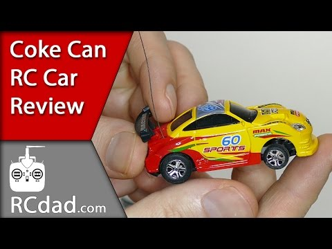 Mini RC Car Review | Coke can radio controlled car