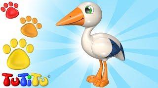 TuTiTu Animals | Animal Toys for Children | Stork and Friends