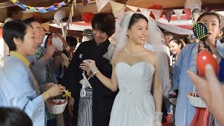NHK朝ドラ・まれ最終回でウエディングドレス