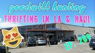 THRIFTING IN LA & HAUL - GOODWILL HUNTING EP. 209