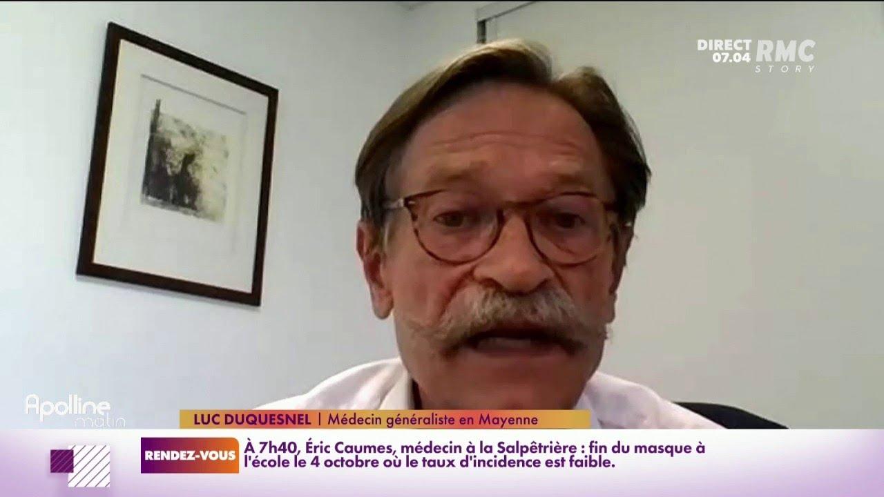 """Pass sanitaire: """"il ne faut pas lâcher la garde"""", plante Luc Duquesnel, médecin en Mayenne"""