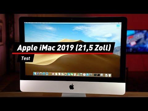 Apple iMac 2019: Kleinere 21,5-Zoll-Variante im Test