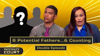 6 Potential Fathers...And Counting: 2-in-1 Special (Double Episode)   Paternity Court