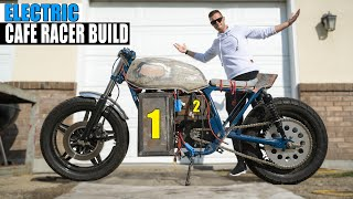 the ELECTRIC CAFE RACER gets ANOTHER BATTERY +30AH (Largest Youtube Motorcycle Battery Ever Made)