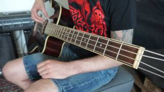 Judas Priest - Troubleshooter [ACOUSTIC BASS COVER] FULL HD