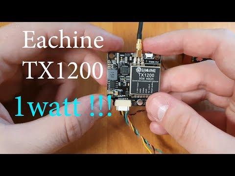 Замер мощности Eachine TX1200