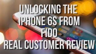 Cellunlocker.net Customer Reviews: A Real Customer Unlocks his Fido iPhone 6S