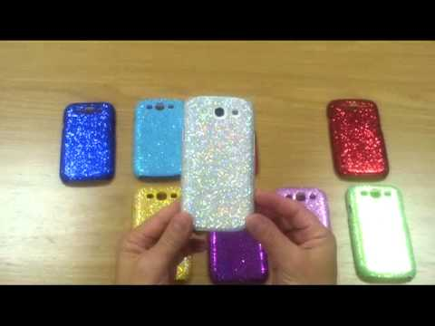 Custodie Glittery case galaxy s3
