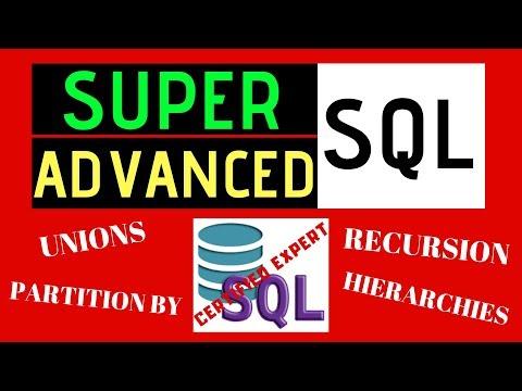 Expert Level SQL Tutorial