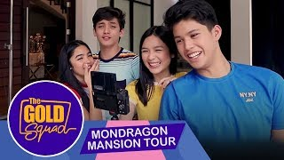 THE MONDRAGON MANSION TOUR | The Gold Squad Andrea, Francine, Seth and Kyle