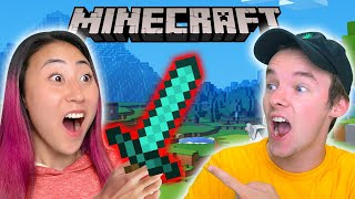 Teaching Me How To Play Minecraft
