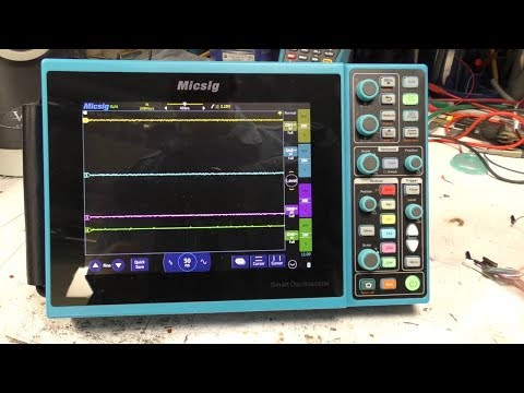 Mikes electric stuff - Micsig STO1000 Series Review Oscilliscope Review Summary