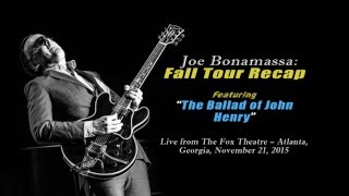 The Ballad of John Henry (Live) - Fall Tour 2015