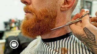 How To Trim, Fade, And Maintain A Square Beard