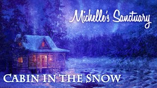 """1-HOUR GUIDED SLEEP MEDITATION: """"Cabin in the Snow"""" Hypnotic Story with Michelle (ASMR)"""