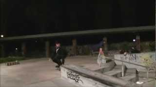 preview picture of video 'Fabrizio Fabbri at cinecitta for ECHO skateshop'