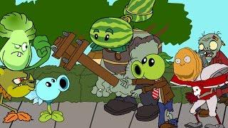 Plants vs. zombies ANIMATION Zombotany 2 / Vegezombis animado 2(Cartoon)
