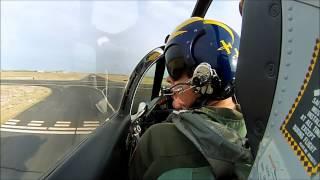 TA-4 Skyhawk N518TA Start up and Take off to DM