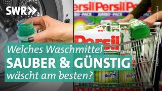 Das Geschäft mit der Sauberkeit: So wird Wäsche am besten und günstigsten sauber I Die Tricks… SWR