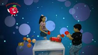 #فتح هدية بابا  #فاتن وفراس #قصص اطفال #تحدى