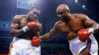 Evander Holyfield vs George Foreman - Highlights (BATTLES of the AGES)
