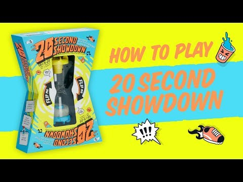 20 Second Showdown Family Party Game