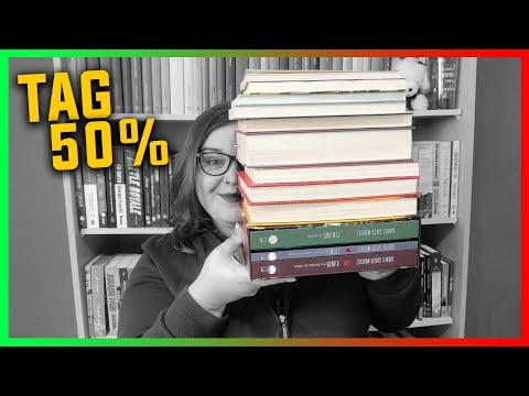 TAG Literária dos 50% (2021)   Li num Livro