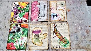 How to Make Pretty Playing Cards for Junk journals! Easy Junk Journal Embellishment! Paper Outpost!