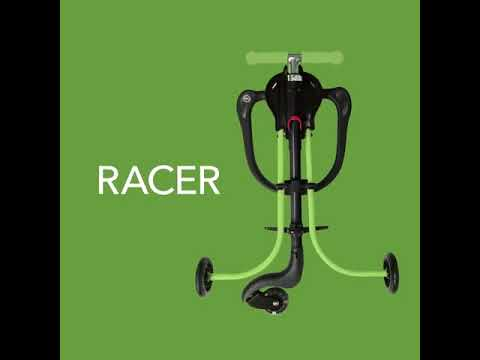 HAPPY-Baby RACER Каталка green blue