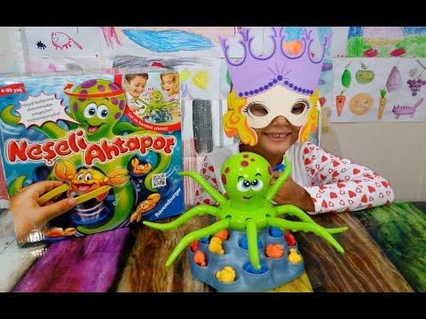 elife sürpriz yeni Neşeli Ahtapot oyuncağı açtık, Toys unboxing ,Eğlenceli çocuk videosu