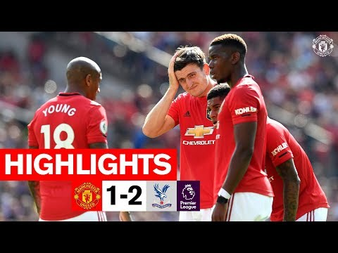 Manchester United Vs Crystal Palace 1 - 2 - EPL All Goals And Highlights
