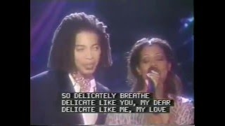 Sananda Maitreya aka Terence Trent D'Arby Arsenio Hall Show part3 Delicate w lyrics