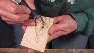 Bluewinged Teal Drake Wing  Feather Carving Demonstration  Part 3