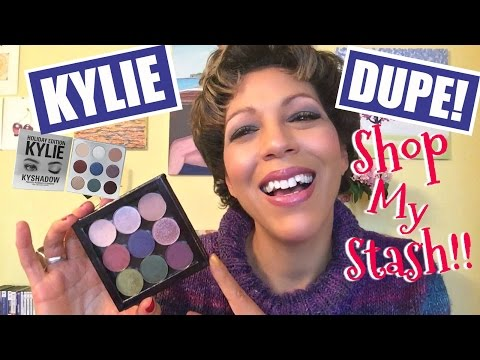HOW TO: DUPE YOUR OWN KYLIE HOLIDAY PALETTE! | DUPES + SHOP MY STASH + SWATCHES | FitChickGlows 💫
