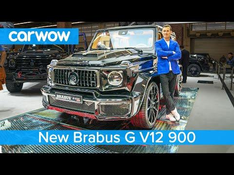Brabus G V12 900hp – the V12 Mercedes-AMG G63
