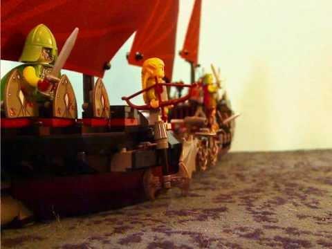 Vidéo LEGO Le Seigneur des Anneaux 79008 : L'embuscade du bateau pirate
