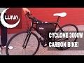 Luna Cycle 50mph Cyclone 3000w Fast Electric Bike
