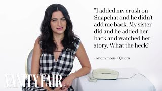 Jenny Slate Gives Phone Etiquette Advice | Vanity Fair