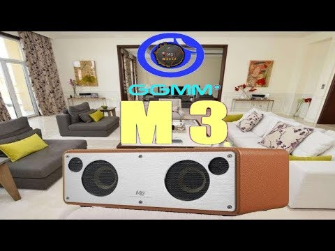 🎬SPEAKER►GGMM M3 Wi-Fi Multiroom Altoparlanti / Bluetooth / AirPlay