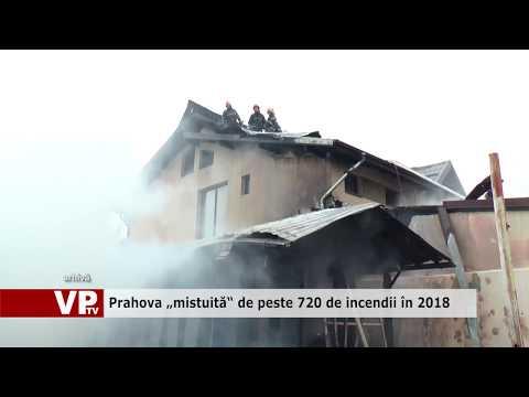 """Prahova """"mistuită"""" de peste 720 de incendii în 2018"""