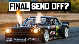 The Hoonicorn's Last Ride? Ken Block's Final Drive in the 1400hp AWD Mustang Hoonicorn V2