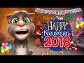 Talking Tom Hindi - Happy New Year 2018 Funny Comedy - Talking Tom Funny Videos