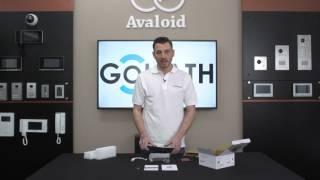 Unboxing GOLIATH IP Video Türsprechanlage Innenstation und Außenstation