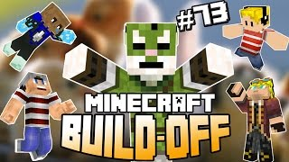 Minecraft Build Off #73 - DIERENDAG! ft. EnzoKnol