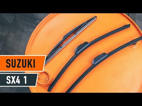 Cómo cambiar Escobillas del limpiaparabrisas trasero en SUZUKI SX4 1 INSTRUCCIÓN | AUTODOC