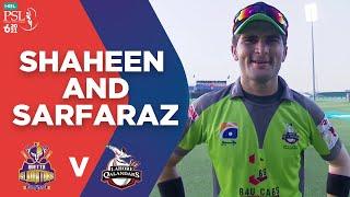 Shaheen Afridi Talks About His Bowling | Sarfaraz Ahmed | Match 23 | HBL PSL 6 | MG2E