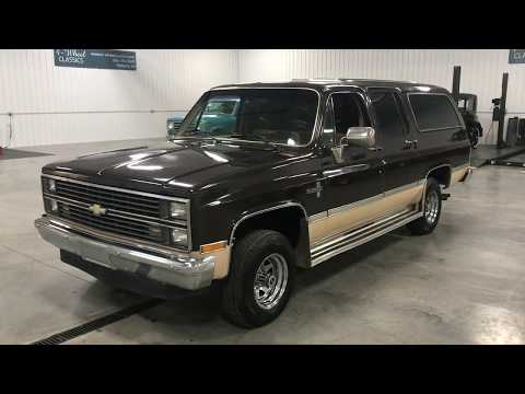 Video of '84 Chevrolet Suburban located in Holland  Michigan - M8RC